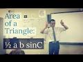 Area of a Triangle: ½absinC