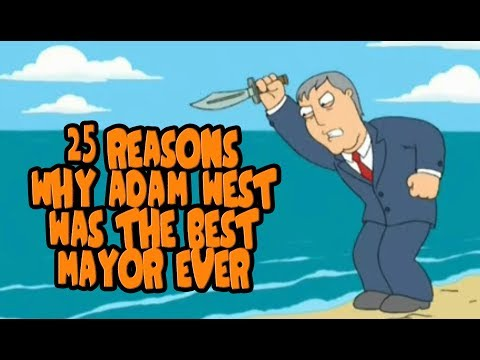 25 Reasons Why Adam West Was The Best Mayor Ever