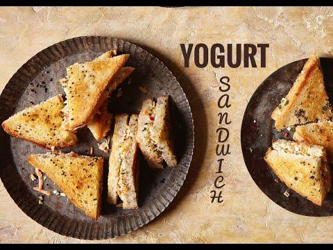 HEALTHY VEGETARIAN SANDWICH | Yogurt Sandwich | 15 minute meal | Healthy Indian | Food with Chetna