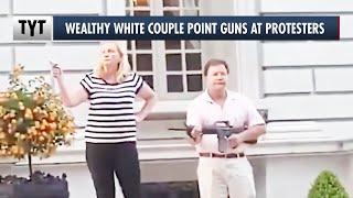 Karen and Ken Threaten Protesters with Guns