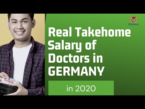 Salary And Income Tax For Doctors In Germany 2020