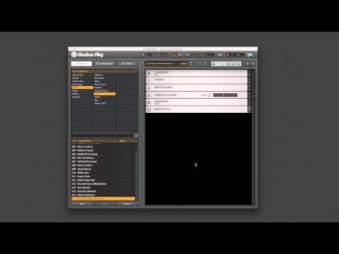 GUITAR RIG 5 : Configuration de votre interface audio