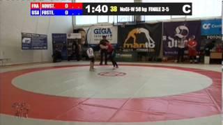 NoGi-W 58 KG - Bronze (Low) - Eloise Aoustin (FRA) vs. Gabriella Foster (USA)
