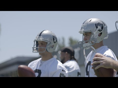 Competition for Raiders kickers heats up in Minicamp