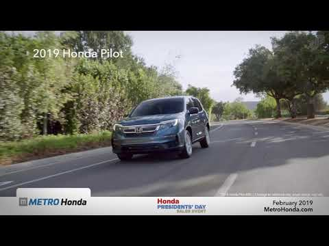 2019 Honda Pilot LX - Metro Honda (Presidents' Day Specials )