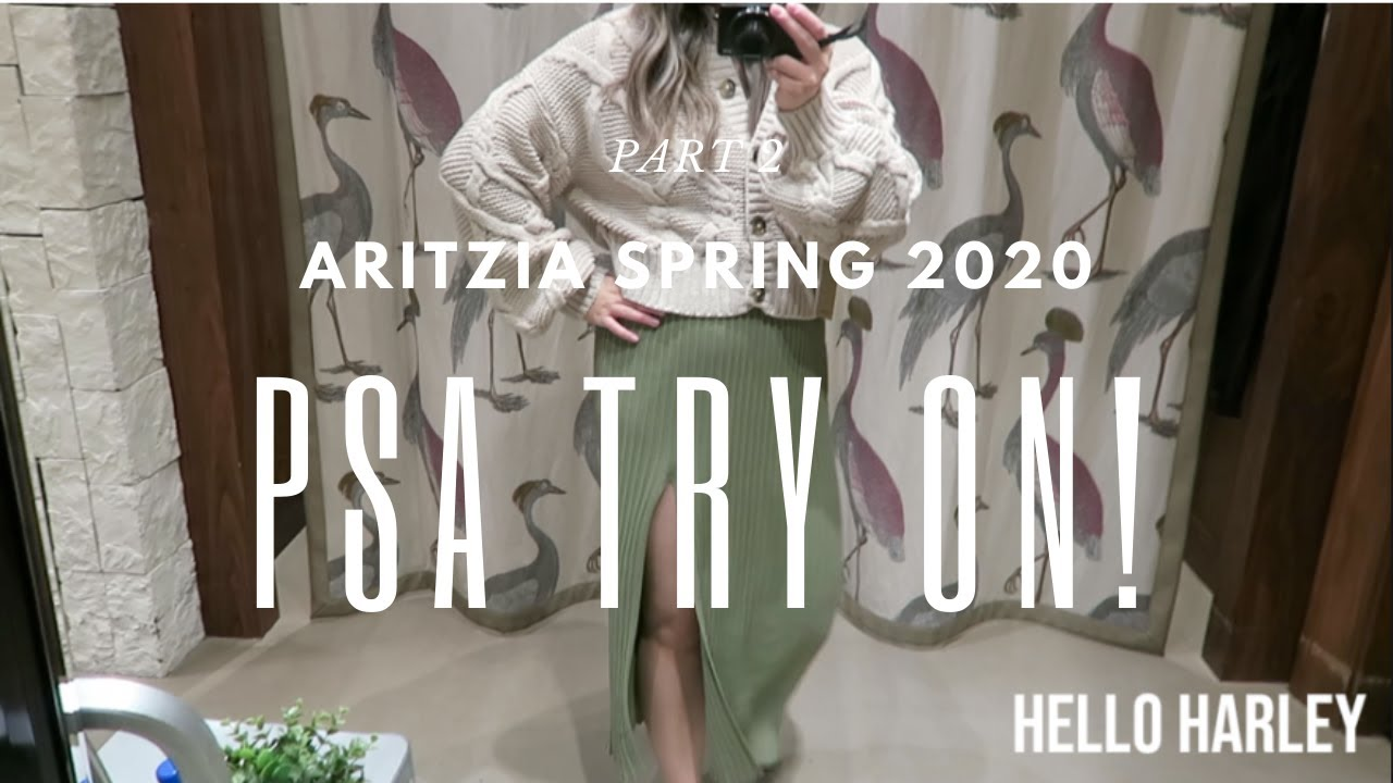 Aritzia Spring 2020 TRY ON| Part 2!