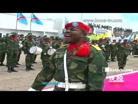 Journal Télé, Joseph Kabila a Mbuji Mayi et au Kenya