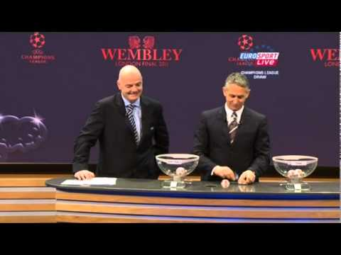 Champions League draw 2010/11 Wembley final