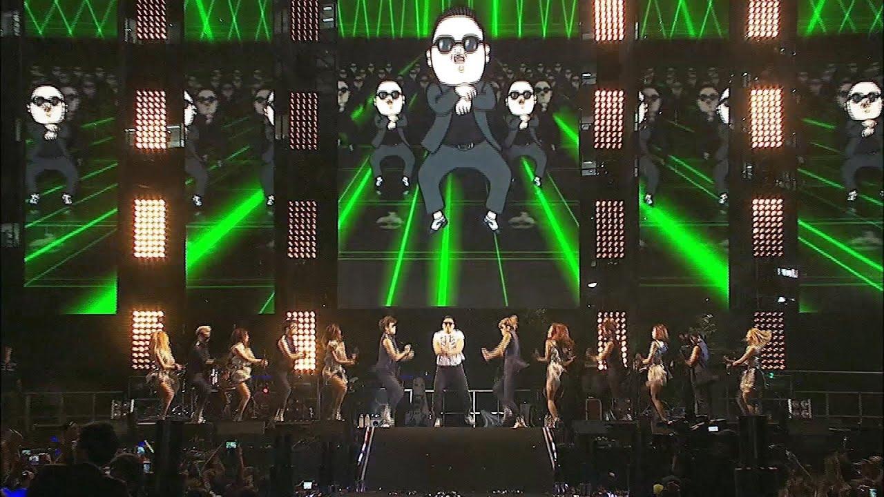 PSY – GANGNAM STYLE (강남스타일) @ Seoul Plaza Live Concert