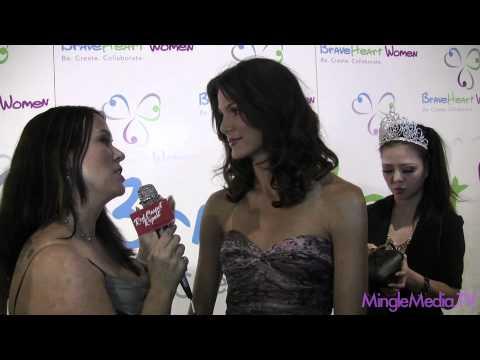 Ragan Brooks at 2011 BraveHeart Women Awards Red Carpet Report