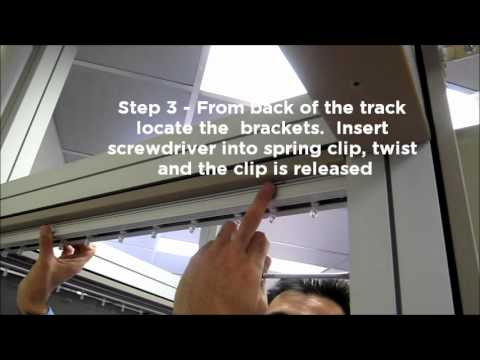 Vertical Blind Removal - YouTube