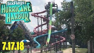 Six Flags Hurricane Harbor NJ Vlog - Diamond Area Review + Tour
