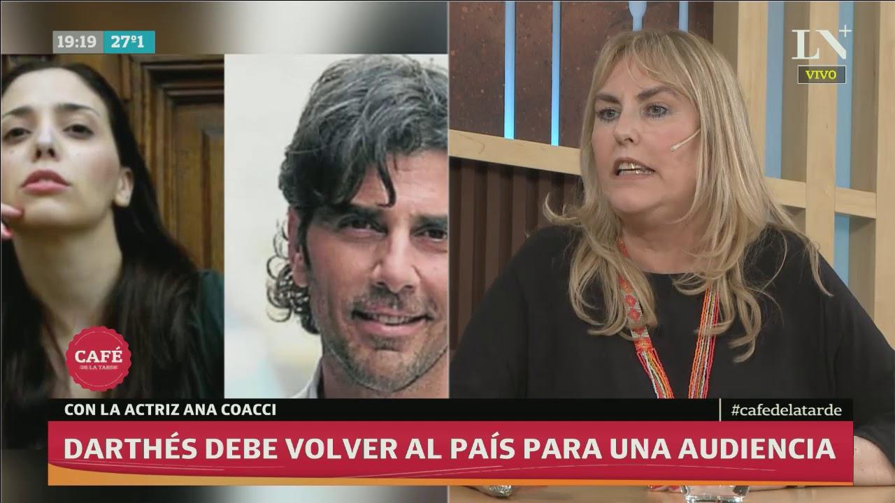 Anita Coacci: Juan Darthés Debe Volver Al País Para Una Audiencia Con