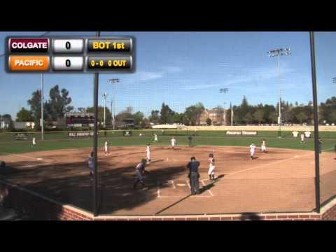 Softball: Pacific vs. Colgate [Doubleheader]