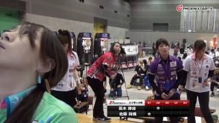 """ソフトダーツトーナメント """"2017 PERFECTツアー""""第4戦 広島 女子準々決..."""