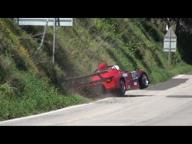 BEST MOMENTS CAMUCIA CORTONA 2018 CRASH DRIFT SPETTACOLO AUTOSTORICHE PURE SOUND