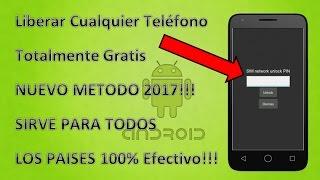 Liberar Cualquier Celular Totalmente Gratis 2018!! Para Todos Los Paises !!Nuevo Metodo!!