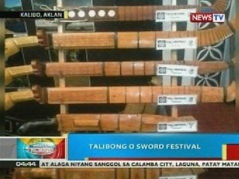 BP: Talibong o Sword Festival, ipinagdiriwang sa Kalibo, Aklan