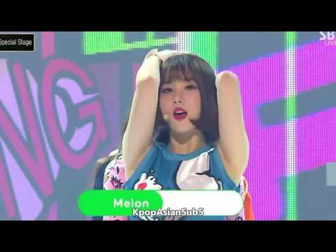 [LIVE] Sunny Girls (써니걸스) - TAXI (택시) [Sub Español + Hangul + Rom] HD