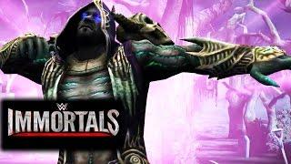 WWE Immortals - NECROMANCER UNDERTAKER Gold Super Move Attacks