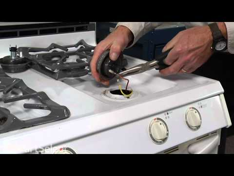 Range/Stove/Oven Repair - Replacing the Sealed Burner Cap (Whirlpool Part # 3412D024-26)
