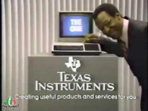Pubblicità Commerciale del TI-99/4A - This is the One - con Bill Cosby
