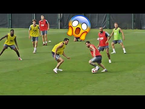 Leo Messi - Training Skills Show 2018 | Part 3