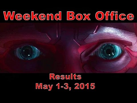 Weekend box office results may 1 3 2015 youtube - Movie box office results this weekend ...
