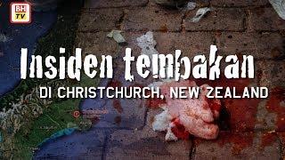 Insiden tembakan di Christchurch New Zealand