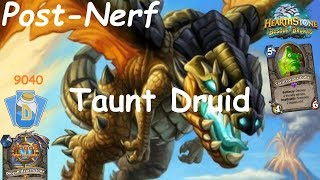 Hearthstone: Master Oakheart Taunt Druid Post-Nerf #11: Witchwood (Bosque das Bruxas) - Standard