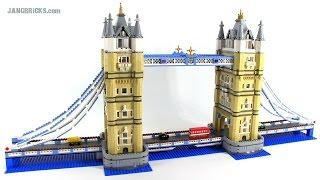 Lego Tower Bridge Review! Set 10214