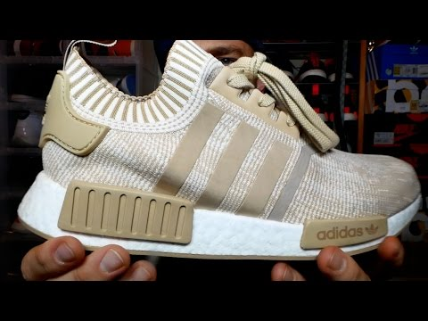 Another pair of the NEW NMD R1's EARLY at Retail!! NMD R1 Linen Khaki Review & On Feet!