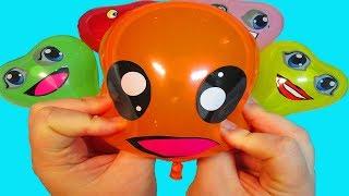 Шарики с водой Учим цвета с шариками Песня про шарики Шарик где же ты Мультик Лопаем Воздушные шары