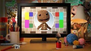 Прохождение LittleBigPlanet 2 - Da Vinci's Hideout (Укрытие Да Винчи) с Настей (Co-Op)
