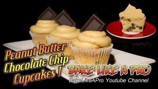 Peanut Butter Chocolate Chip Cupcakes Recipe