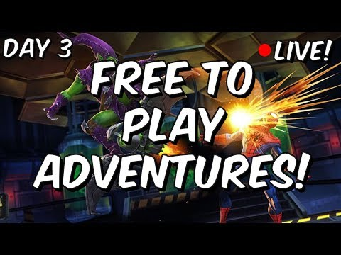 Free To Play Adventures - Day 3: Sinister Foes Heroic! - Marvel Contest Of Champions