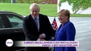A Brexit-megállapodás újratárgyalásáért harcol a brit miniszterelnök