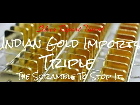 Gold Imports Triple in India! The Gold Demand Surge and the Scramble to Stop It