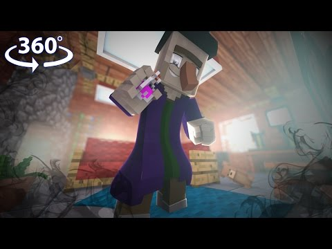 Virtual Reality SIMULATOR in Minecraft - Minecraft 360° Video