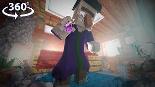 Virtual Reality SIMULATOR in Minecraft - Minecraft 360° Video