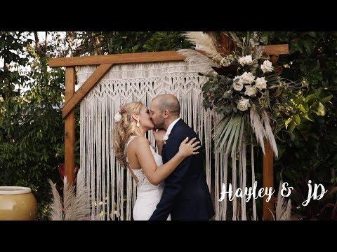 bride-surprises-groom-//-gorgeous-backyard-wedding-in-palm-cove