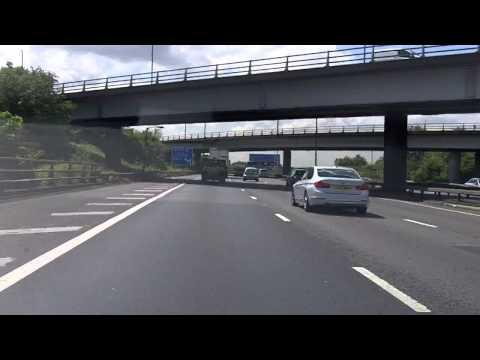 UK Motorways Onboard - M40 S to M25 J11