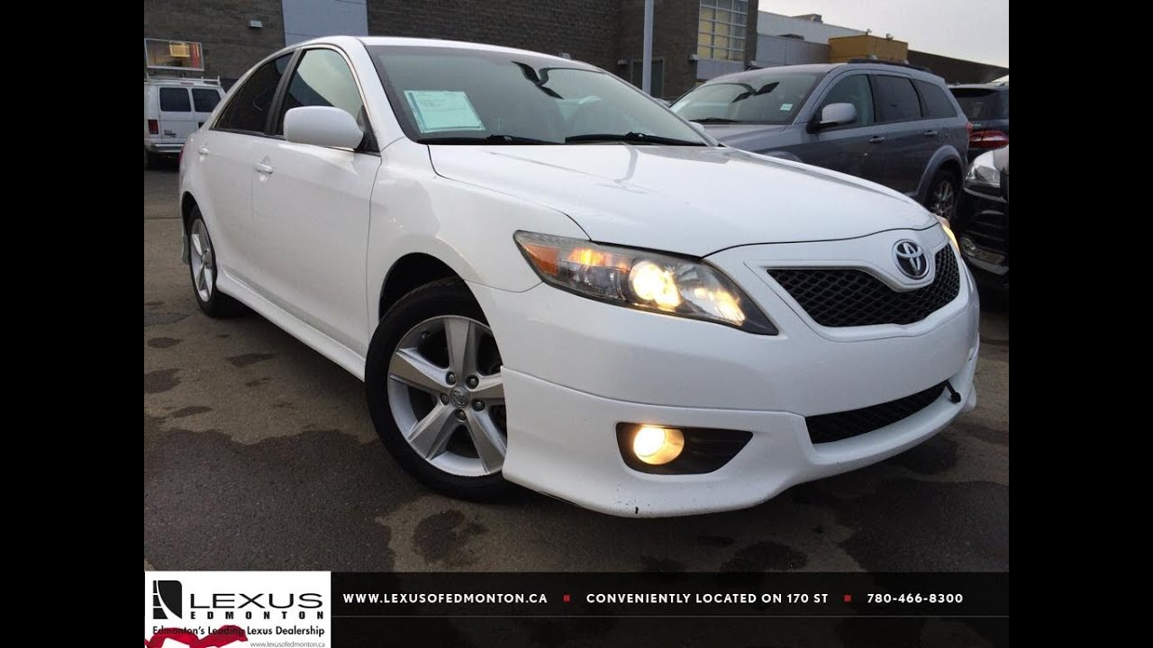 Used White 2011 Toyota Camry I4 Auto Se Review