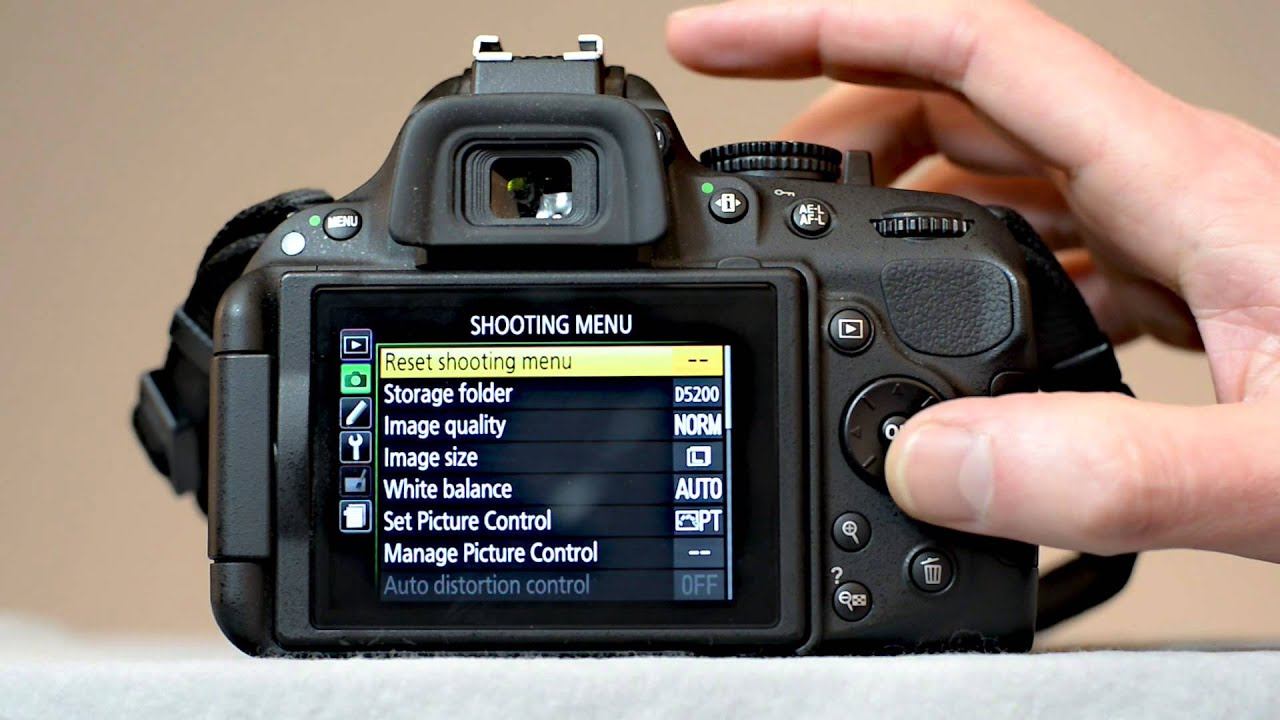 nikon d5200 movie settings how to set up your d5200 to shoot rh youtube com