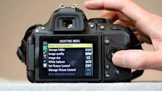 Nikon D5200 movie settings - How to set up your D5200 to shoot videos - youtube