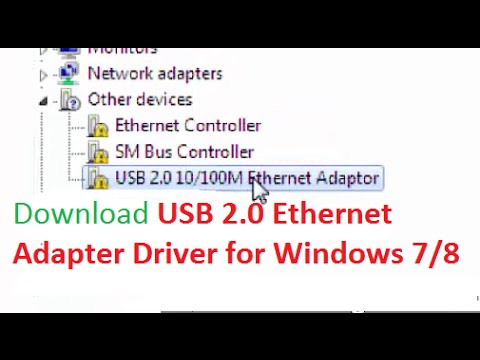 Download RD9700 USB2.0 to Fast Ethernet Adapter driver for Windows 7 / 8