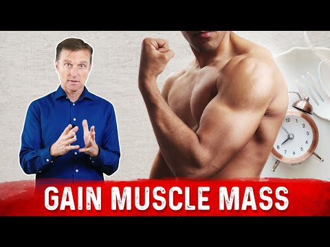 Intermittent Fasting and Muscle Mass Gain