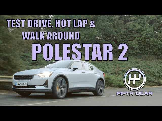 Polestar 2 FULL Test Drive, Hot Lap & Walkaround | Fifth Gear