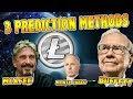 LITECOIN - 3 Price Prediction Methods... MCafee vs Warren Buffett