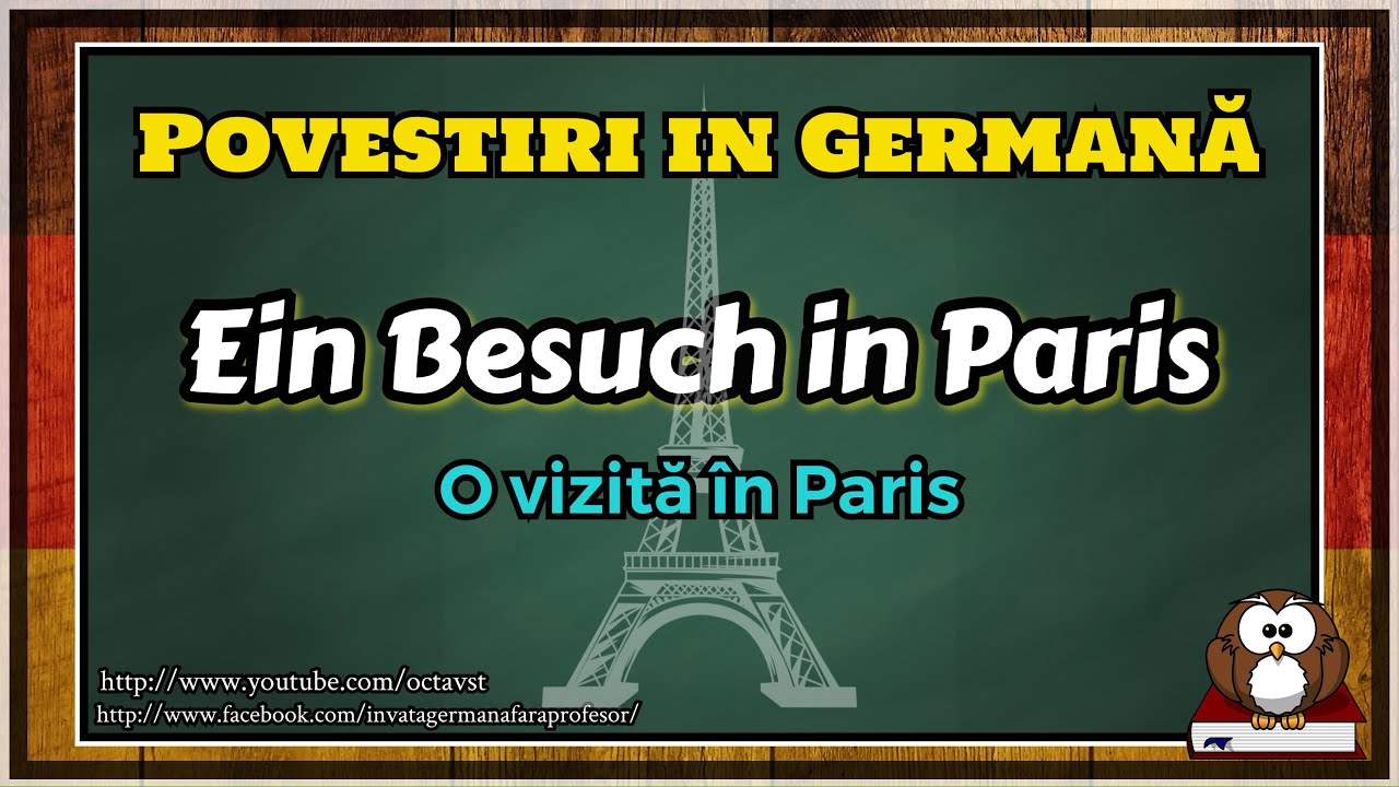 O vizită în Paris - Povestiri în Germană